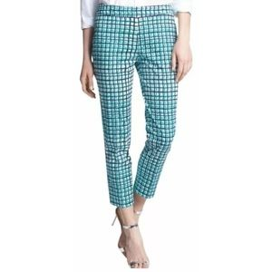 Kate Spade Breezeblock Grid Mindy Crop Pants